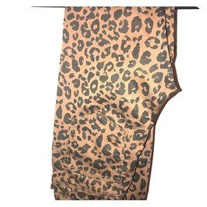 Stradivarius cheetah print skinny jean